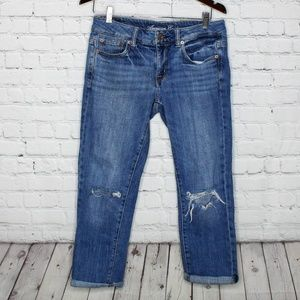 AE AEO American Eagle Boyfit Stretch Denim Jeans 2